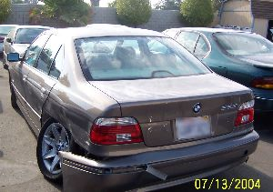 2001 BMW Before