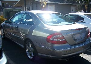 2003 Mercedes CLK500 After
